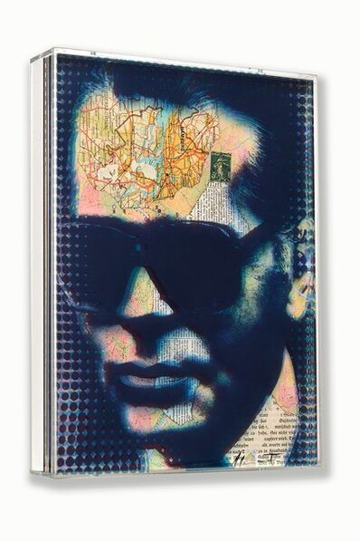 André Monet, 'Karl Lagerfeld', 2020