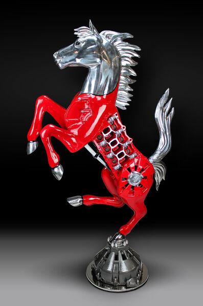 James Ferrari, 'Testarossa Prancing Horse', 2015