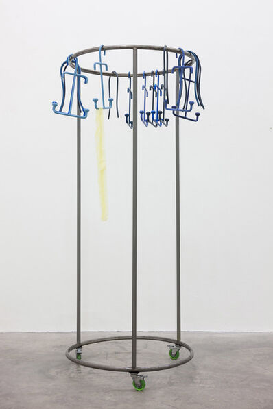 Aleana Egan, 'soft prints (yellow)', 2015