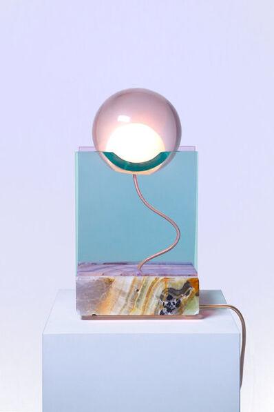 """Adrien Cruz, '""""Rotonda"""" lamp', 2019"""