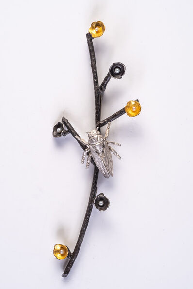 Sheridan Conrad, 'Cicada Broach/Pendant', 2021