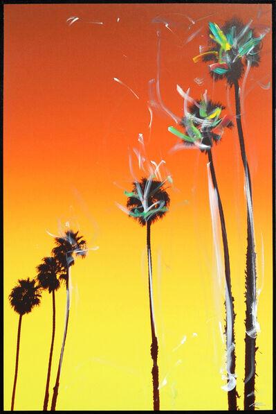 Pete Kasprzak, 'Santa Barbara Up Palms', 2021