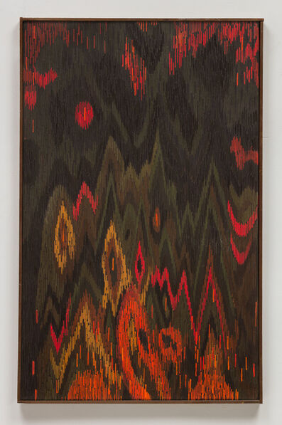 Lee Mullican, 'The Diamond Mountains', 1963