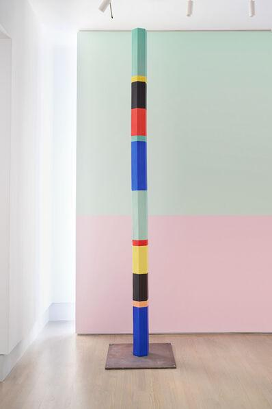 Anton Ginzburg, 'Polychrome Column 10A_02', 2019