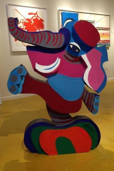 Karel Appel, 'Untitled-Balancing Elephant', 1978