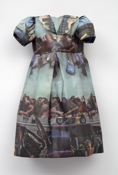 Andrea Lilienthal, 'New York Times Little Dress XII', 2019