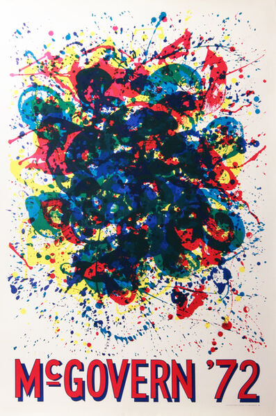 Sam Francis, 'Untitled (George McGovern 1972 Presidential Campaign Poster) ', 1972