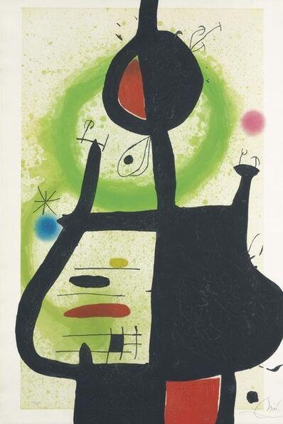 Joan Miró, 'La Sorcière', 1969