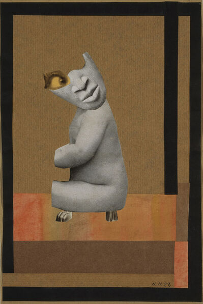 Hannah Höch, 'Aus der Sammlung: Aus einem ethnographischen Museum (From the Collection: From an Ethnographic Museum)  ', 1929