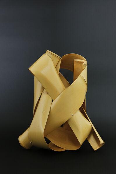 Matsumoto Hafū, 'Nositake bamboo basket ' Sakimori ( Soldier ) '', 2017
