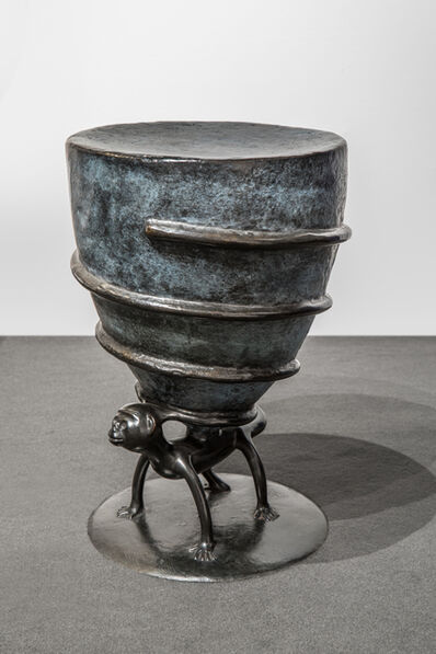 "Jean-Marie Fiori, 'Pair of ""Tampouf "" Stool', 2003"