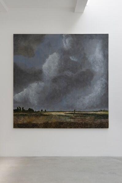 Stephan Balkenhol, 'Landschaft mit hohem Himmel', 2018