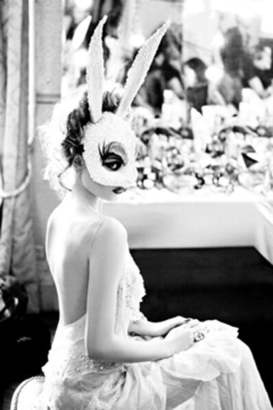 Ellen von Unwerth, 'White Bunny', 2012