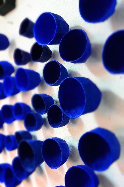 Toshiro Yamaguchi, 'Blue flowers, whisper of the wall', 2015