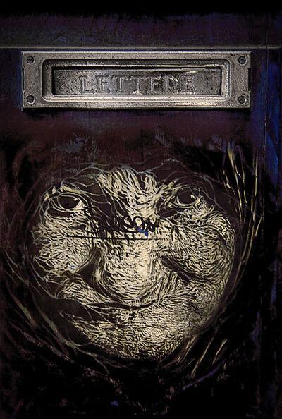 E.K. Waller, 'Letter Face', 2016