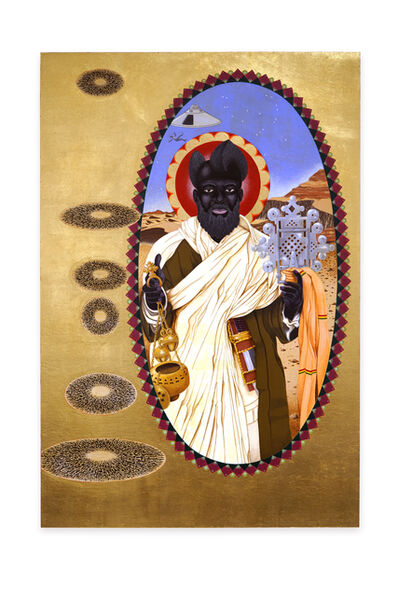 Mark Steven Greenfield, 'St. Moses the Black, aka Abba Moses the Robber', 2020