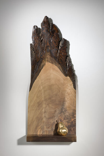 Betty McGeehan, 'Minimal Wood Abstract Sculpture: 'The Gift'', 2015-18