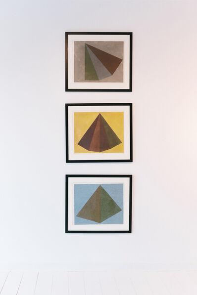 Sol LeWitt, 'Untitled (Pyramid) 3 works', 1985