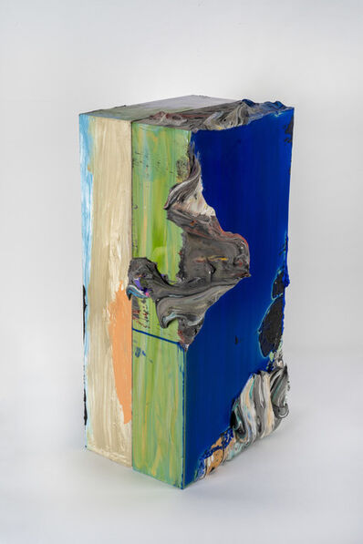James Walsh, 'BLUE COLUMN', 2017