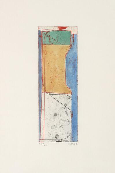 Richard Diebenkorn, 'Small Thin', 1980