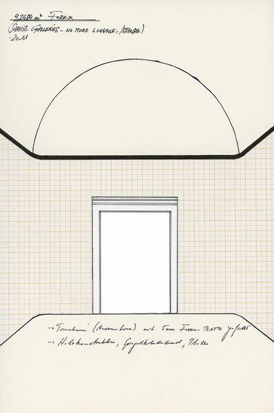 "Jonas Feferle, '""4,2484 m2 Forex""', 2011"