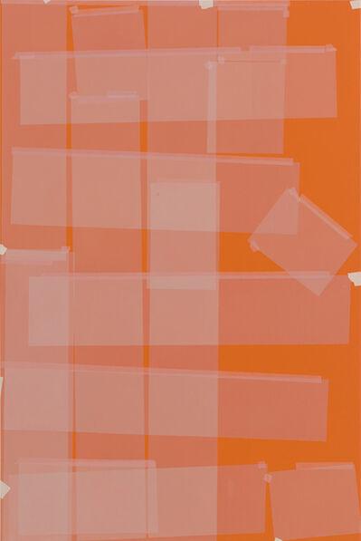 Kees Goudzwaard, 'Transparency on Orange', 2015