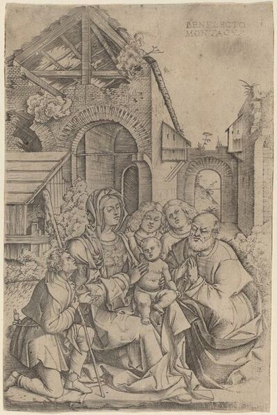Benedetto Montagna, 'The Nativity', ca. 1507