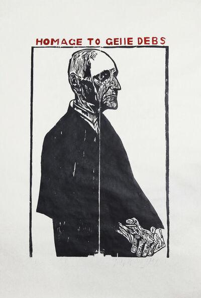 Leonard Baskin, 'Homage to Geiie Debs', 1949