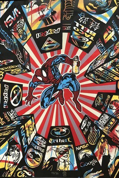 Speedy Graphito, 'I spray my city', 2011