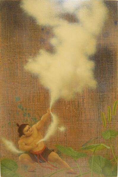 Seiichiro Ban, 'Catching a cloud', 2017