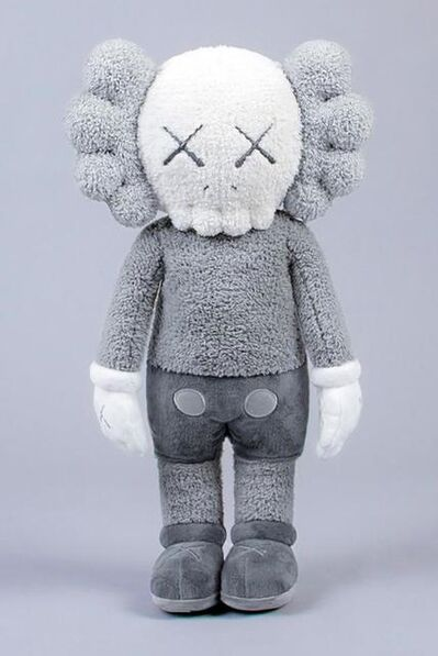 KAWS, 'HOLIDAY HONG KONG COMPANION PLUSH (GREY)', 2019