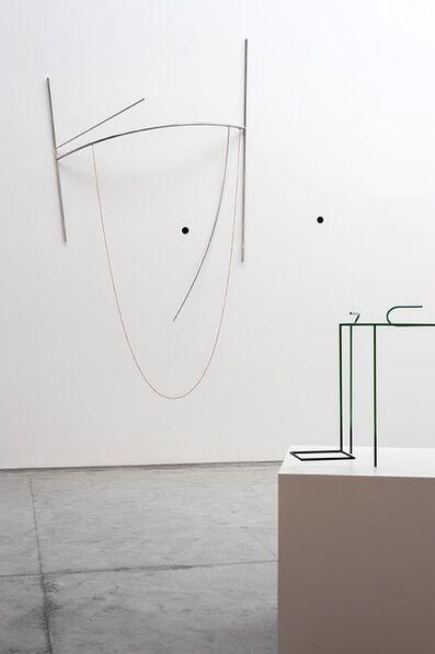 Waltercio Caldas, 'Parábola (dois pontos)', 2007