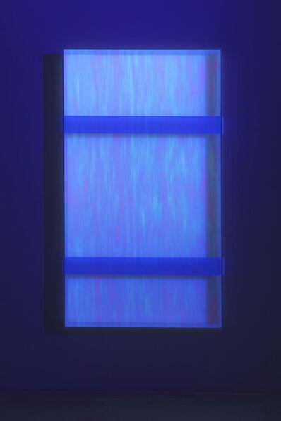 Regine Schumann, 'Colormirror rainbow double bars violet toronto', 2019
