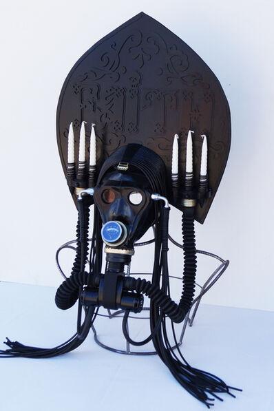 """Vasily Slonov, 'Kokosnik - Gas Mask """"Faith""""'"""