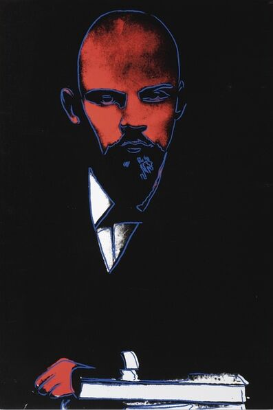 Andy Warhol, 'Black Lenin', 1987