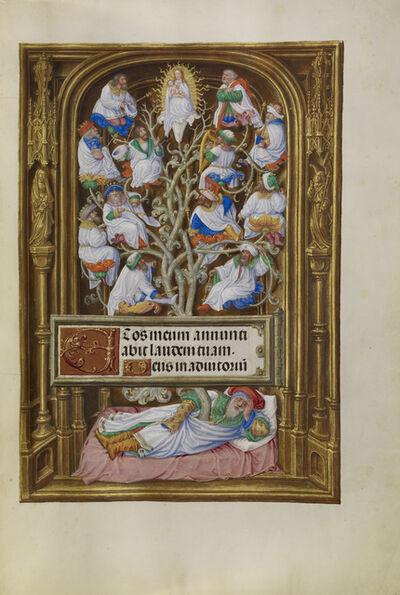 Master of James IV of Scotland, 'The Tree of Jesse', 1510-1520