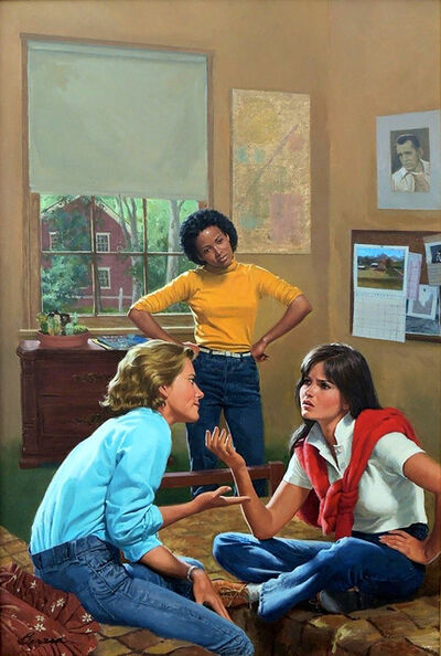 Robert Berran, 'You're No Friend of Mine, Girls of Canby Hall Book Cover', 1984