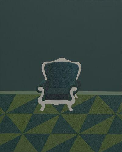 Huang Yishan, 'Green Sofa', 2015