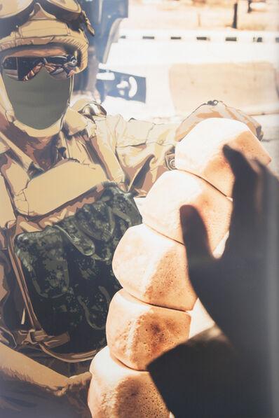 Luke Cornish (ELK), 'Russian Soldier, Palmyra', 2017