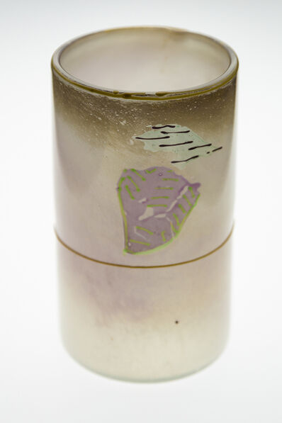 Dale Chihuly, 'Rare 1979 Signed Blanket Series Glass Cylinder - Offers Considered', 1979