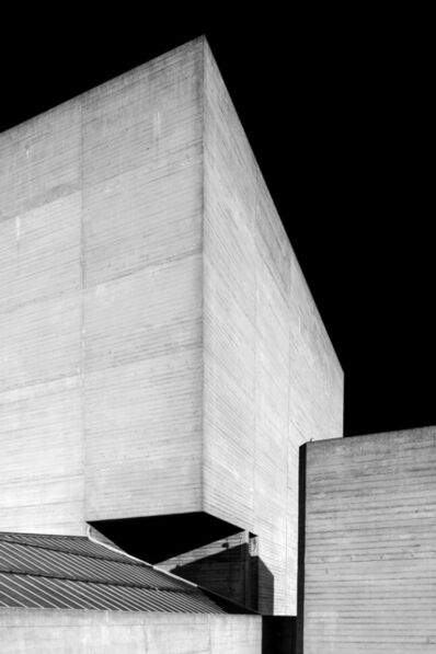 Egle Kisieliute, 'Concrete Evidence 5 (National Theatre, London. 1969 – 76)', 2019