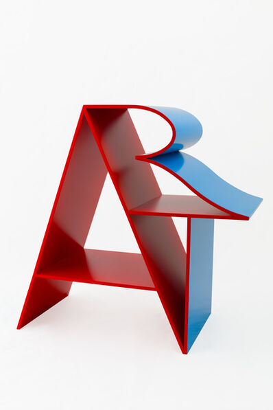 Robert Indiana, 'ART, Red Blue', 2000