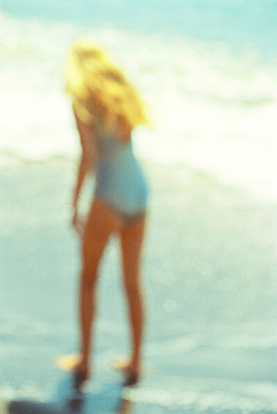 David Montgomery, 'Untitled (Girl on Beach) ', ca. 1970