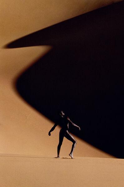 Manfred Thierry Mugler, 'Erg Mehedjebat, Sahara algérien, 1988 Djimon Hounsou', 2019