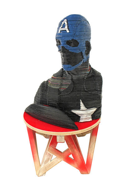 Georges Monfils, 'Captain America', GFA965