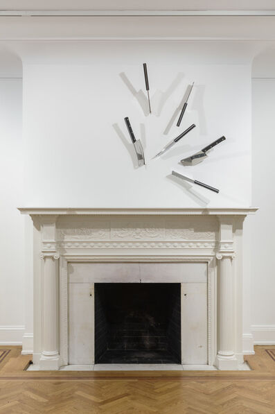 Barry Le Va, 'Untitled (Cleavers)', 1969/2020