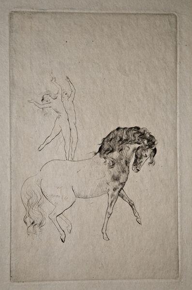Pablo Picasso, 'Au Cirque', 1905