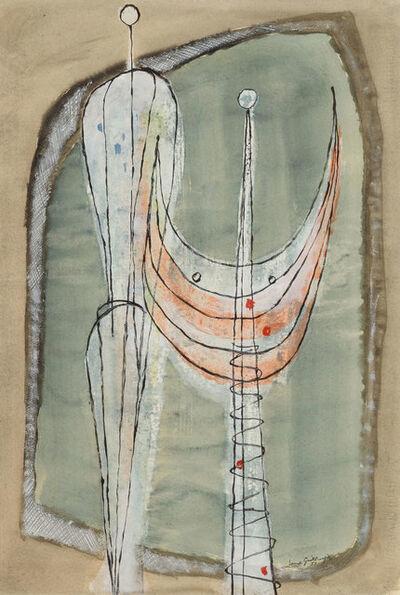 Ernst Geitlinger, 'Zwei stehende Figuren', 1951
