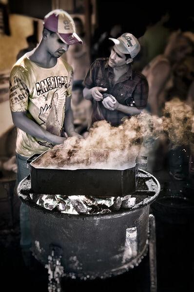 E.K. Waller, 'Street Cooking', 2013