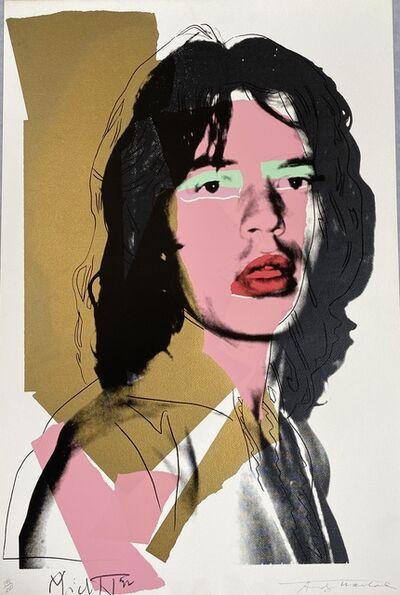 Andy Warhol, 'Mick Jagger F&S II.143', 1975